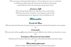 Biscuits & Herbals